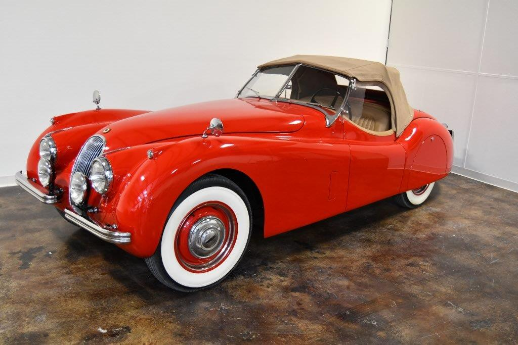1953 Jaguar XK120 Roadster. 🔍. Back To Consignments