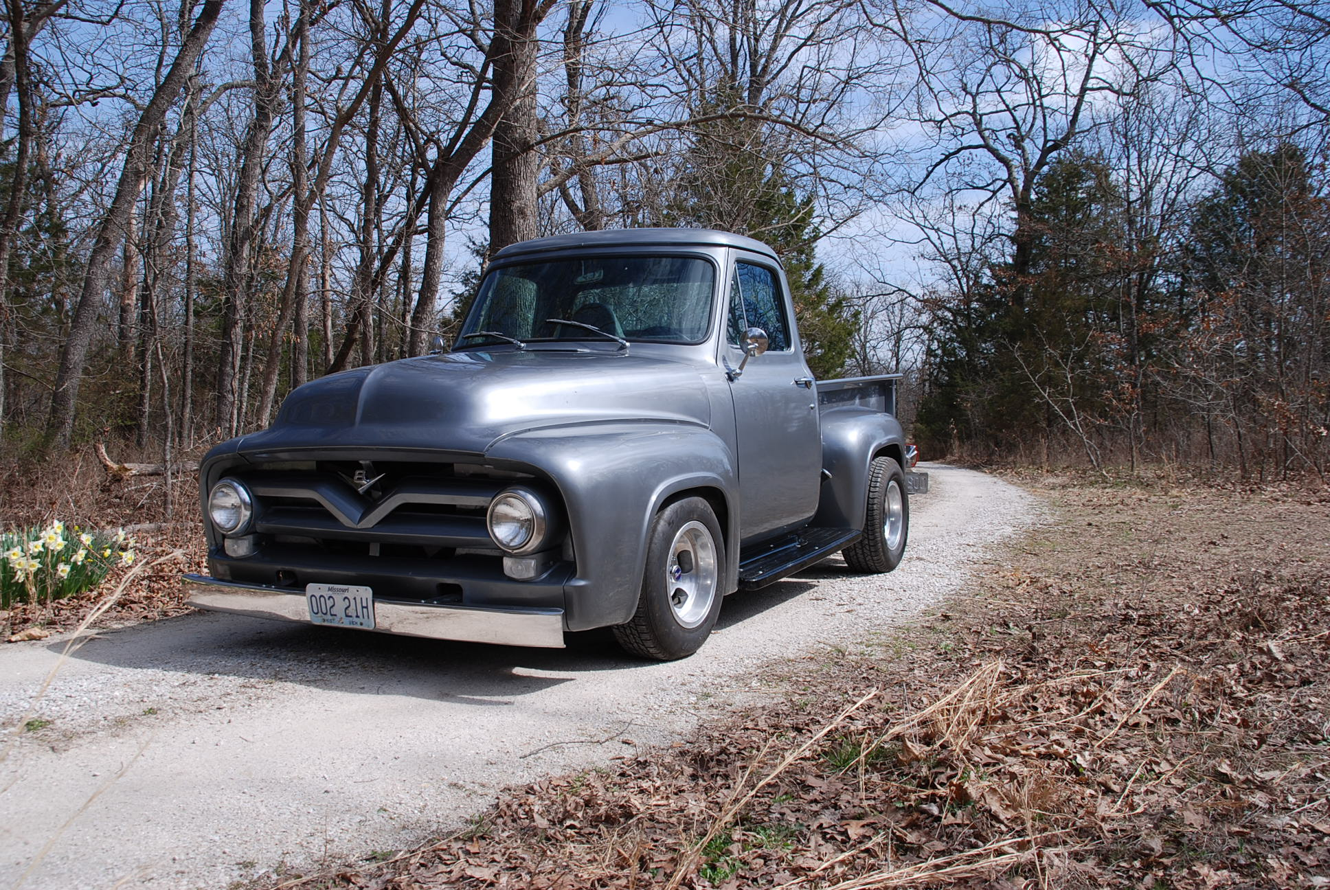 Inventory Page 9 Branson Auction Classic And Collector Car 1955 Ford F100 Side