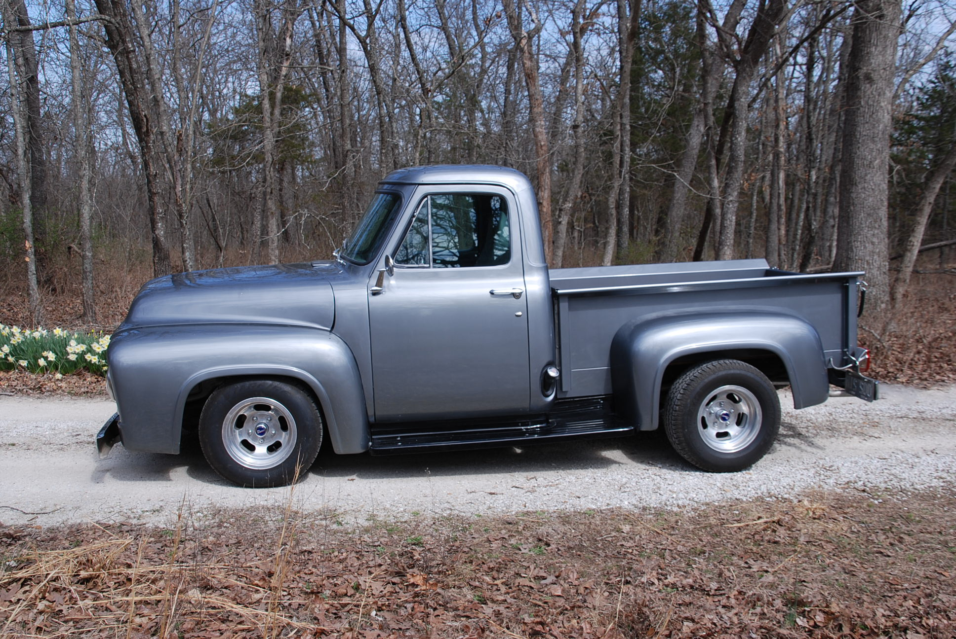 1955 Ford F100 Branson Auction Classic And Collector Car Truck Interior