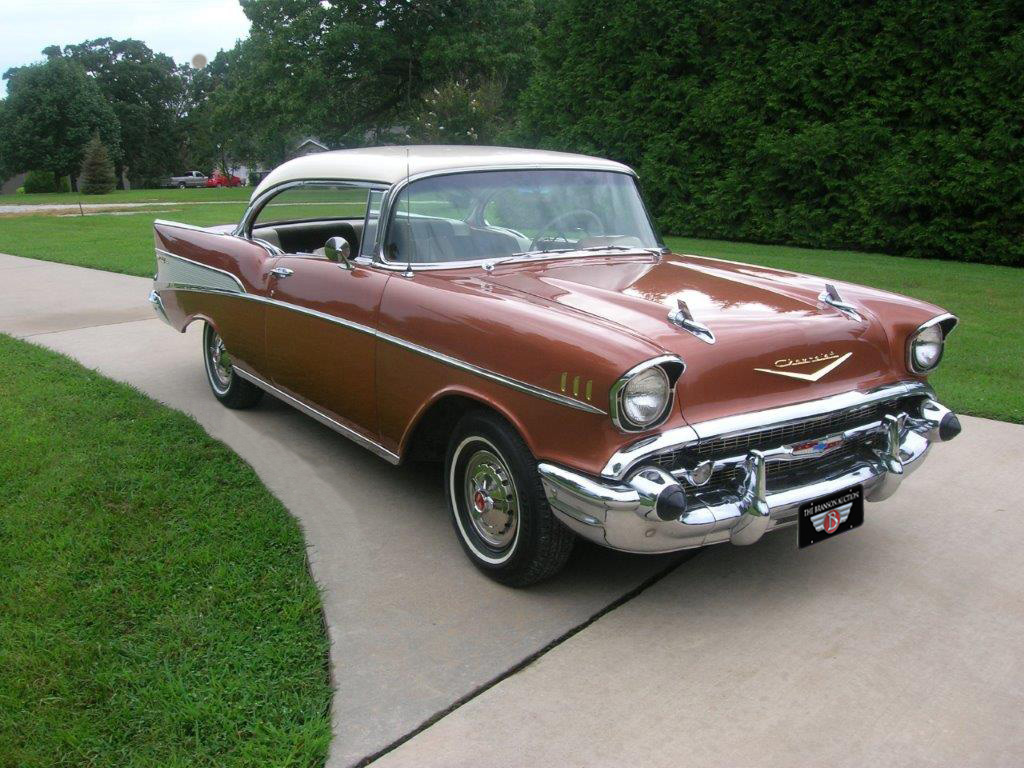 Current Consignments Branson Auction Classic And Collector Car 1957 Chevy Bel Air 2 Door Sedan Chevrolet Sport Coupe