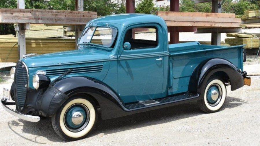 1938 Ford Truck >> 1938 Ford Model 85 Pickup Branson Auction Classic And
